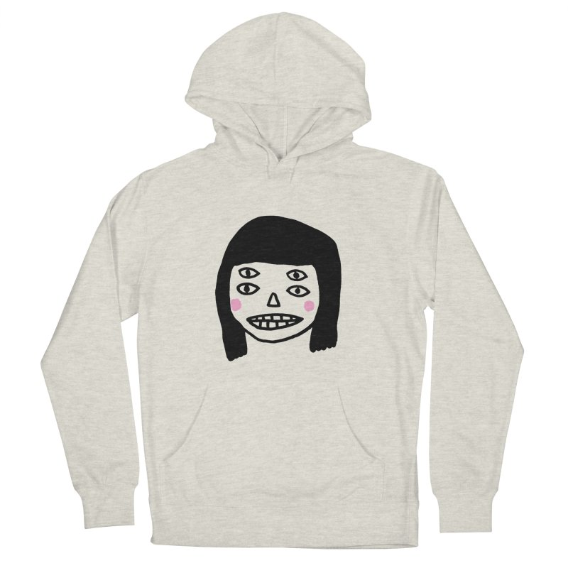 Creepy Girls Men's French Terry Pullover Hoody by Garbage Party's Trash Talk & Apparel Shop