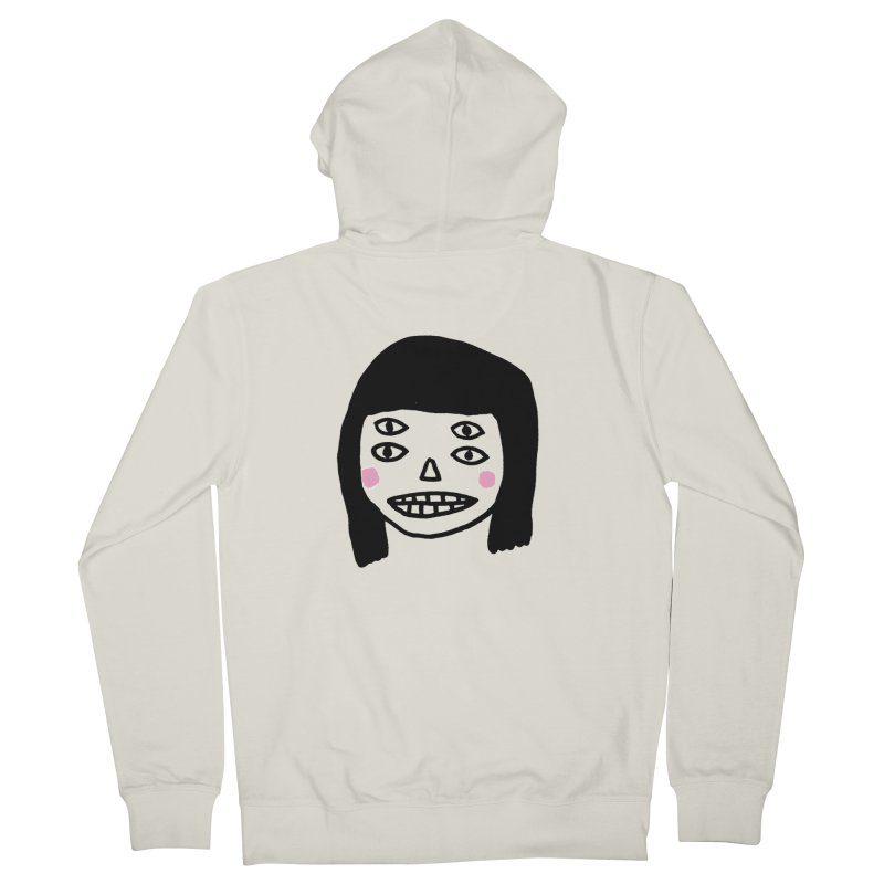 Creepy Girls Women's French Terry Zip-Up Hoody by Garbage Party's Trash Talk & Apparel Shop