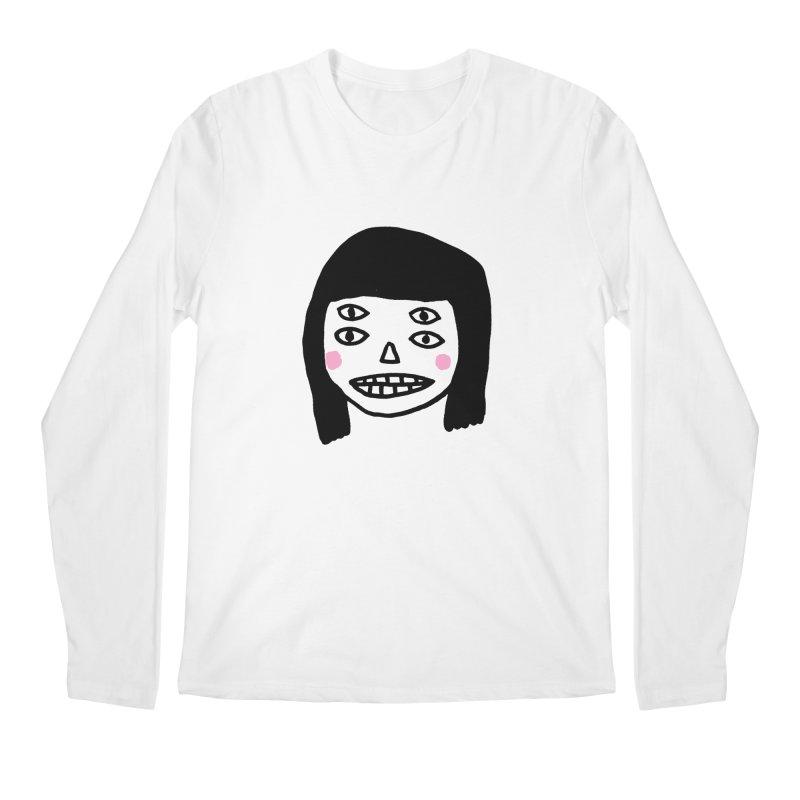 Creepy Girls Men's Regular Longsleeve T-Shirt by Garbage Party's Trash Talk & Apparel Shop