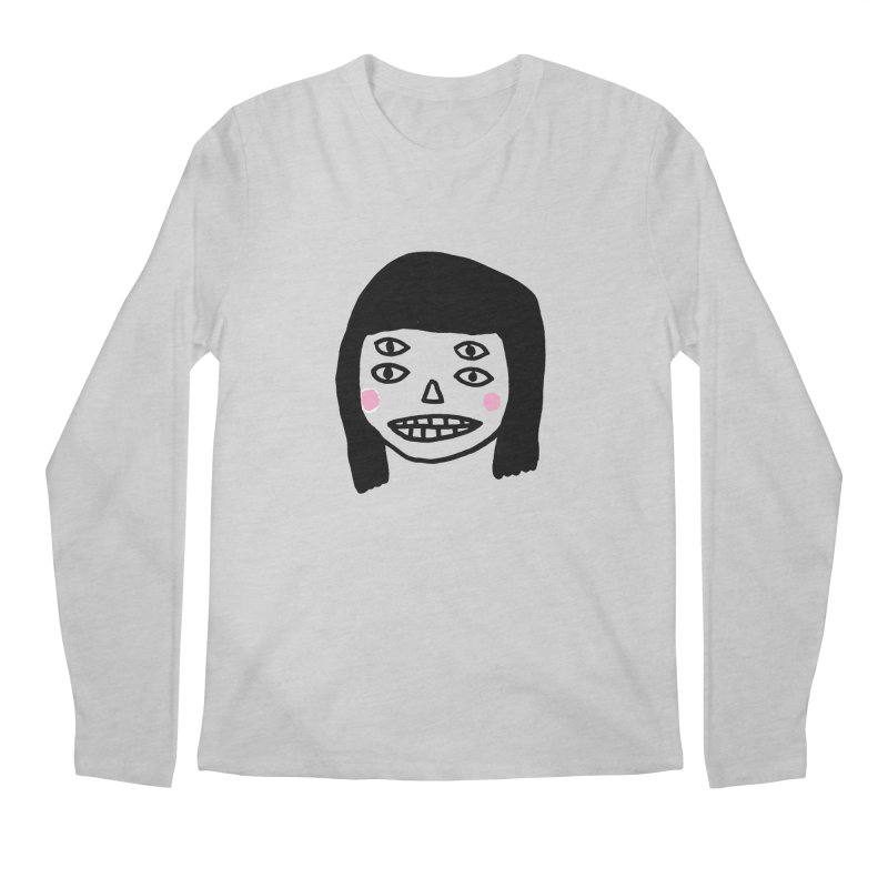 Creepy Girls Men's Regular Longsleeve T-Shirt by Garbage Party's Trash Talk & Apparel Shop