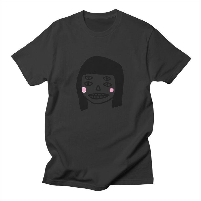 Creepy Girls Men's Regular T-Shirt by Garbage Party's Trash Talk & Apparel Shop