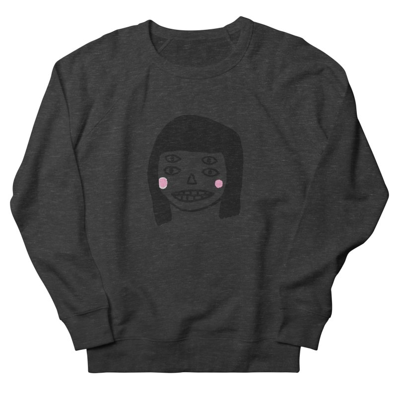 Creepy Girls Women's French Terry Sweatshirt by Garbage Party's Trash Talk & Apparel Shop