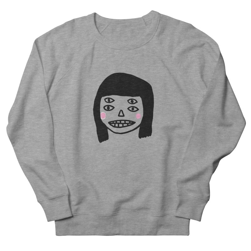 Creepy Girls Men's French Terry Sweatshirt by Garbage Party's Trash Talk & Apparel Shop