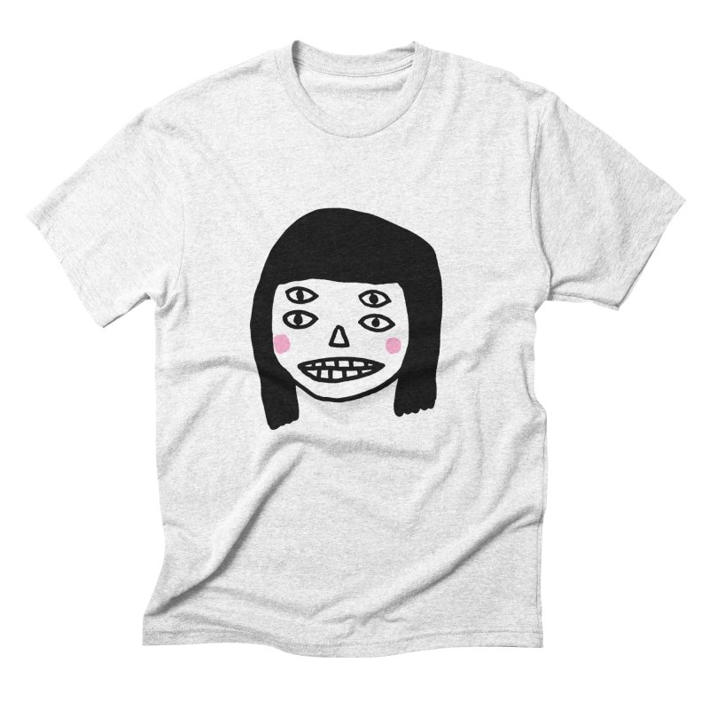 Creepy Girls Men's Triblend T-shirt by Garbage Party's Trash Talk & Apparel Shop