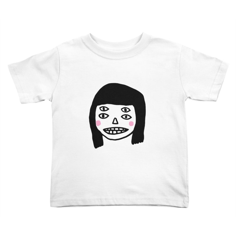 Creepy Girls Kids Toddler T-Shirt by Garbage Party's Trash Talk & Apparel Shop
