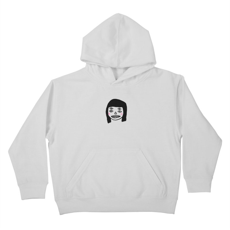 Creepy Girls Kids Pullover Hoody by Garbage Party's Trash Talk & Apparel Shop