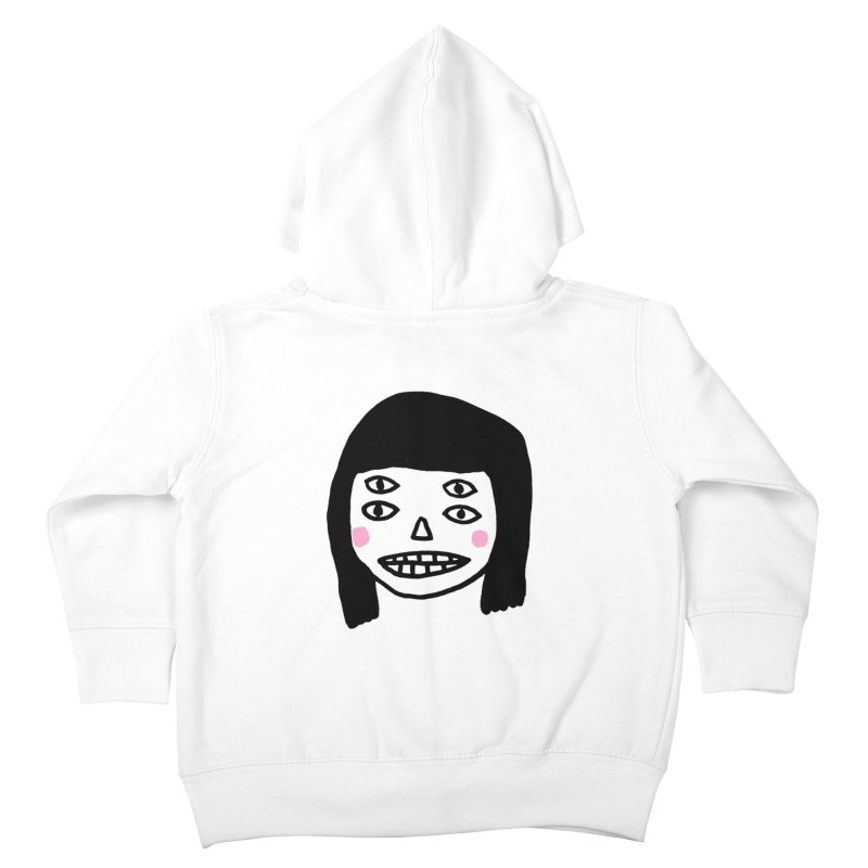 Creepy Girls Kids Toddler Zip-Up Hoody by Garbage Party's Trash Talk & Apparel Shop