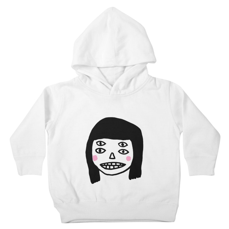 Creepy Girls Kids Toddler Pullover Hoody by Garbage Party's Trash Talk & Apparel Shop