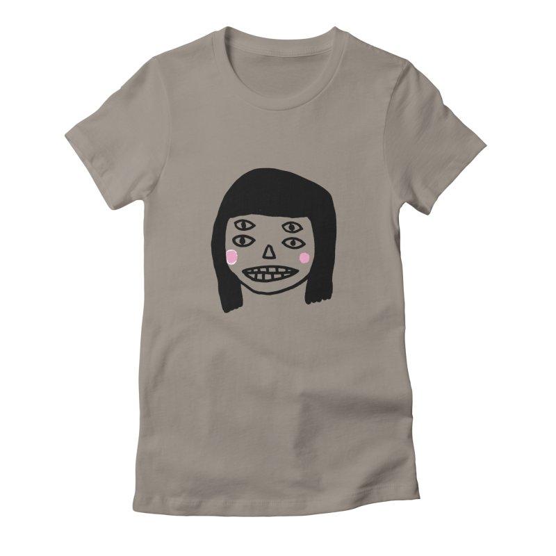 Creepy Girls Women's T-Shirt by Garbage Party's Trash Talk & Apparel Shop