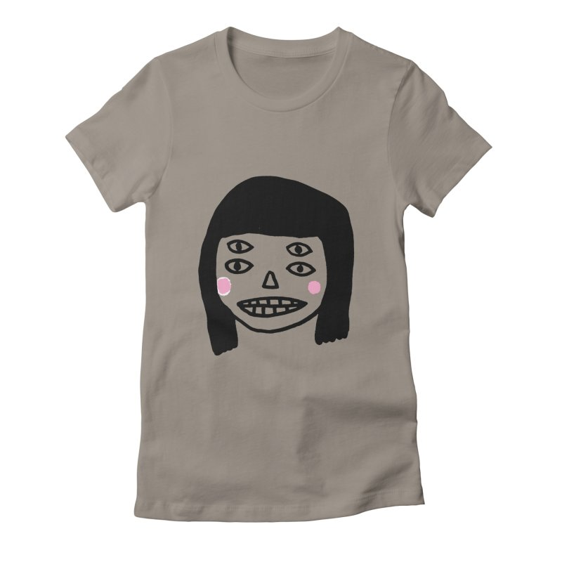 Creepy Girls Women's T-Shirt by Garbage Party's Trash Talk & Apparel Shop