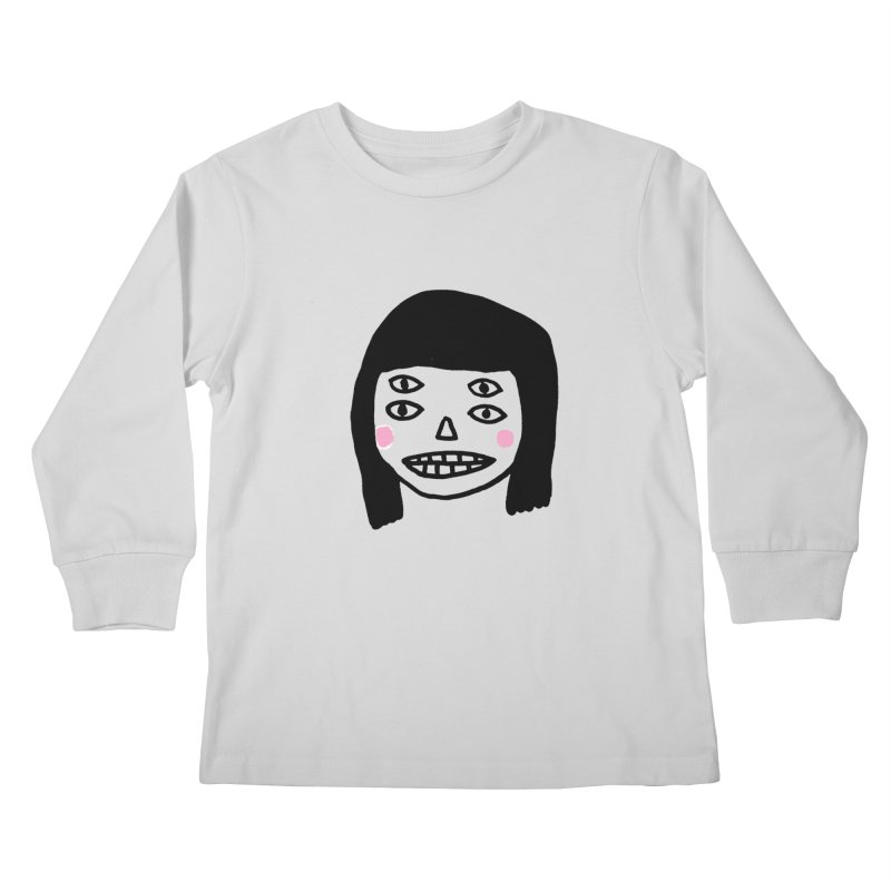 Creepy Girls Kids Longsleeve T-Shirt by Garbage Party's Trash Talk & Apparel Shop
