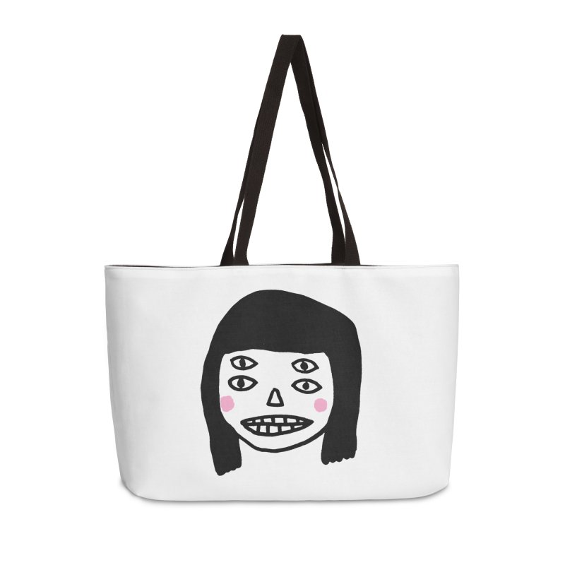 Creepy Girls Accessories Bag by Garbage Party's Trash Talk & Apparel Shop