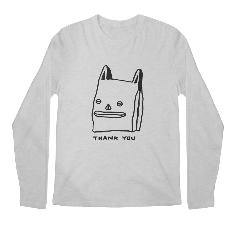 Thank You For Shopping Men's Longsleeve T-Shirt by Garbage Party's Trash Talk & Apparel Shop