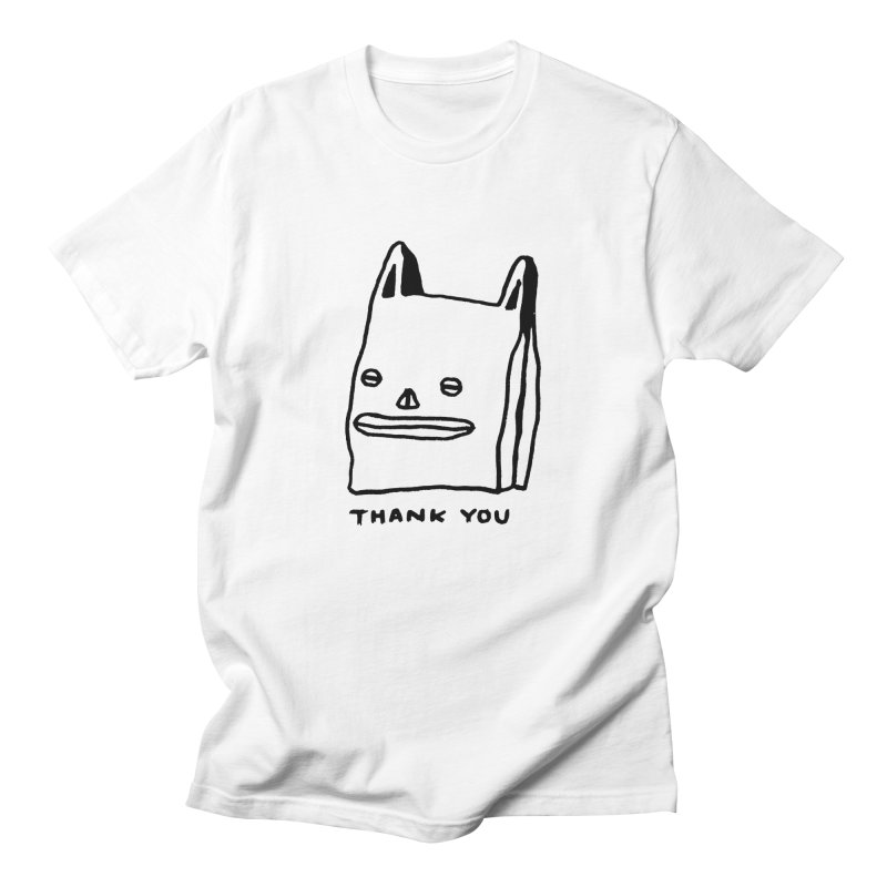 Thank You For Shopping Men's Regular T-Shirt by Garbage Party's Trash Talk & Apparel Shop