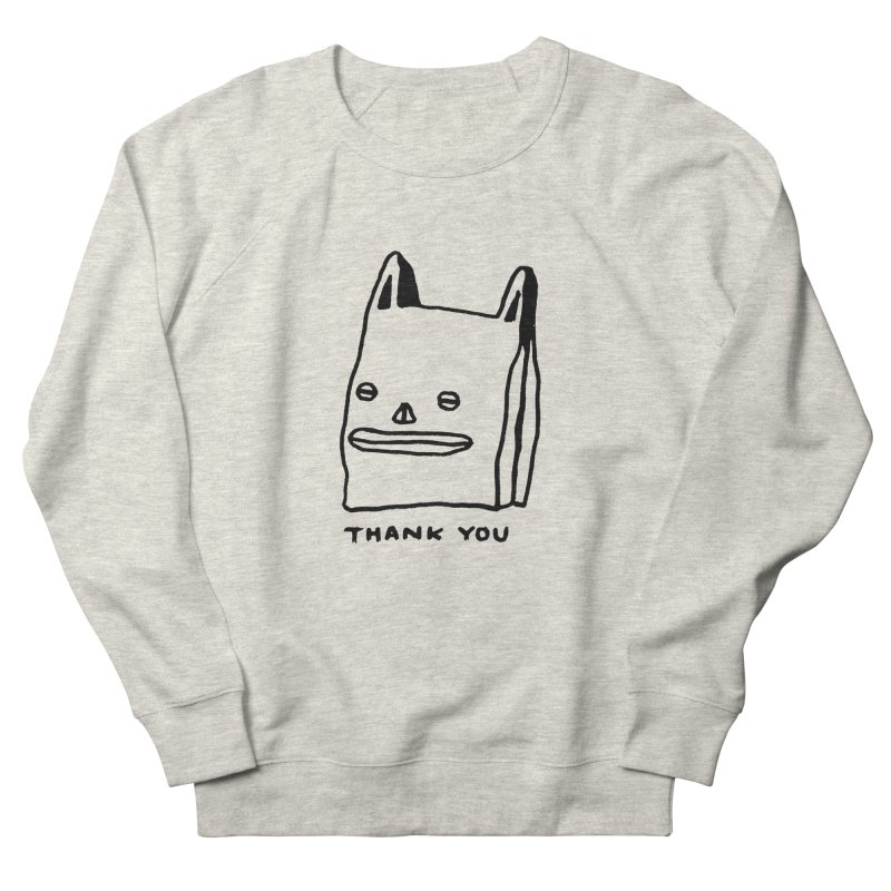 Thank You For Shopping Men's Sweatshirt by Garbage Party's Trash Talk & Apparel Shop