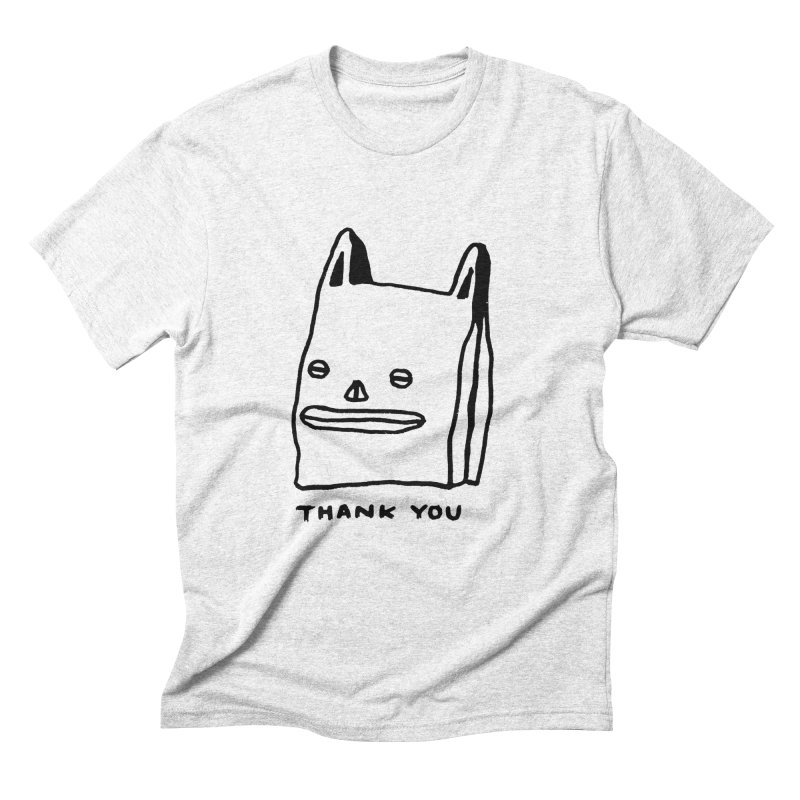 Thank You For Shopping Men's Triblend T-shirt by Garbage Party's Trash Talk & Apparel Shop