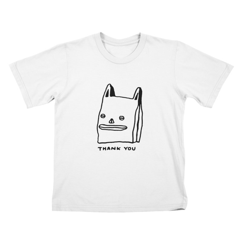 Thank You For Shopping Kids T-Shirt by Garbage Party's Trash Talk & Apparel Shop