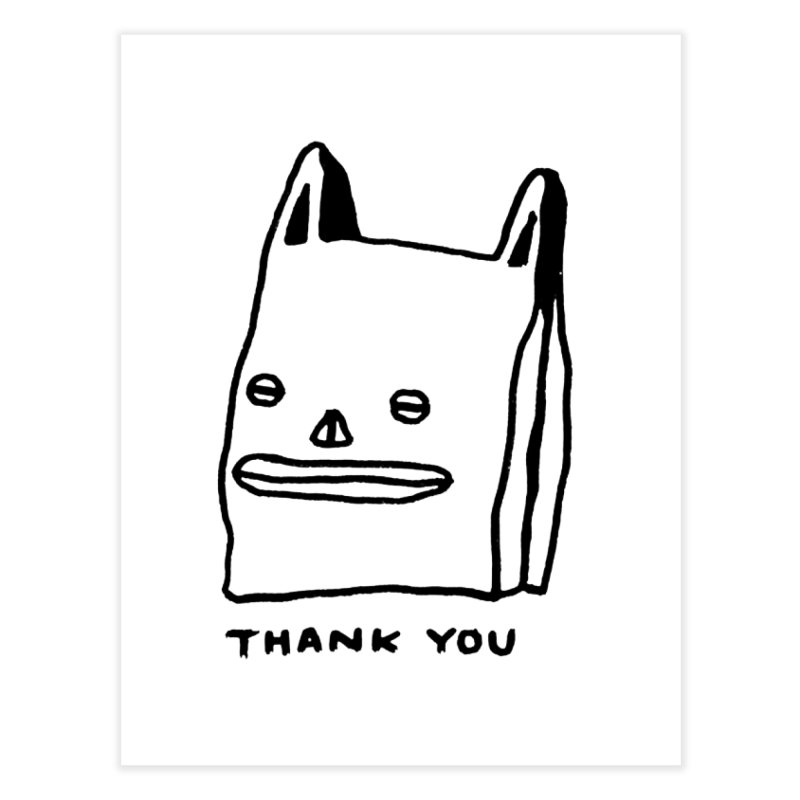 Thank You For Shopping Home  by Garbage Party's Trash Talk & Apparel Shop