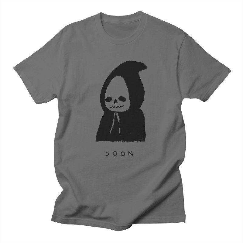 SOON Men's Regular T-Shirt by Garbage Party's Trash Talk & Apparel Shop