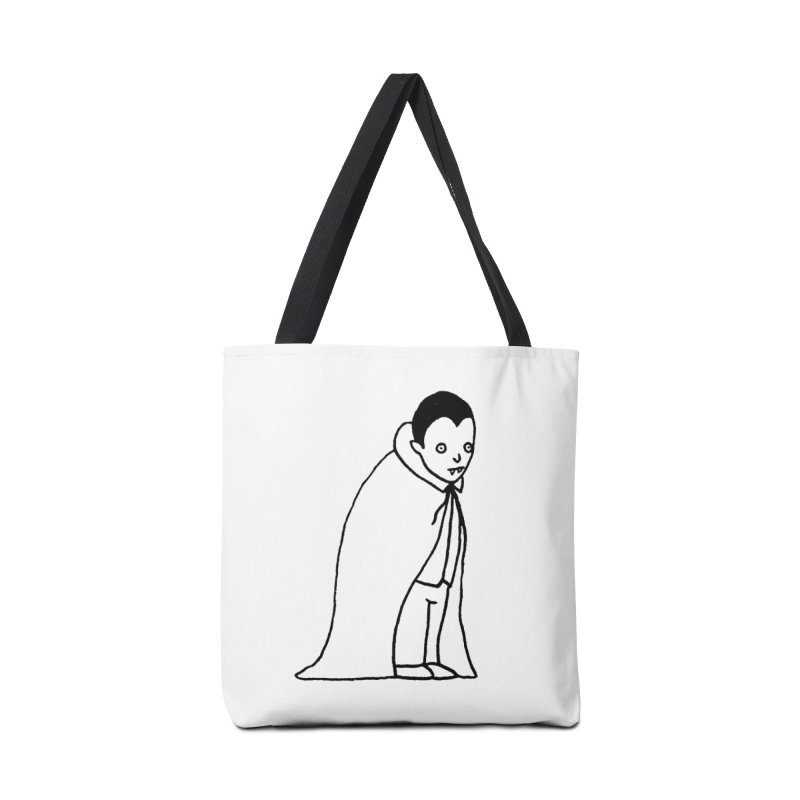 Little Dracula Accessories Tote Bag Bag by Garbage Party's Trash Talk & Apparel Shop