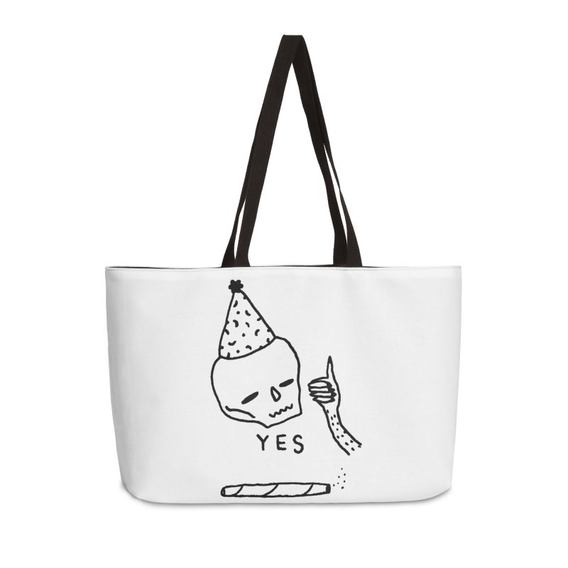 YES Accessories Bag by Garbage Party's Trash Talk & Apparel Shop