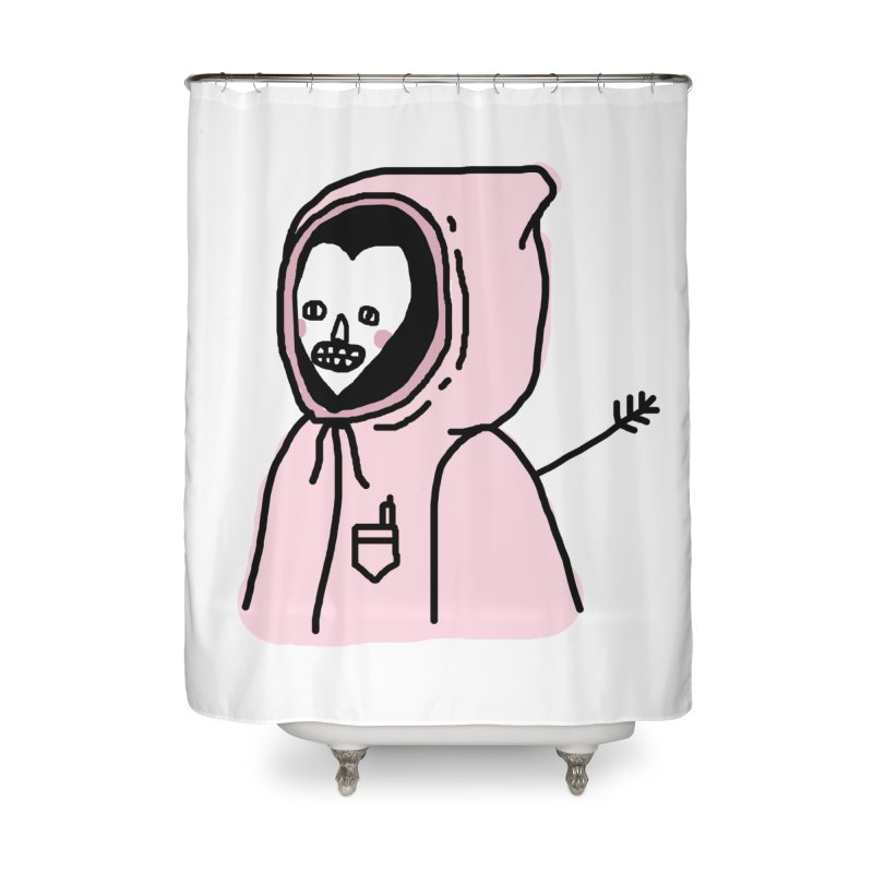 I AM OK Home Shower Curtain by Garbage Party's Trash Talk & Apparel Shop