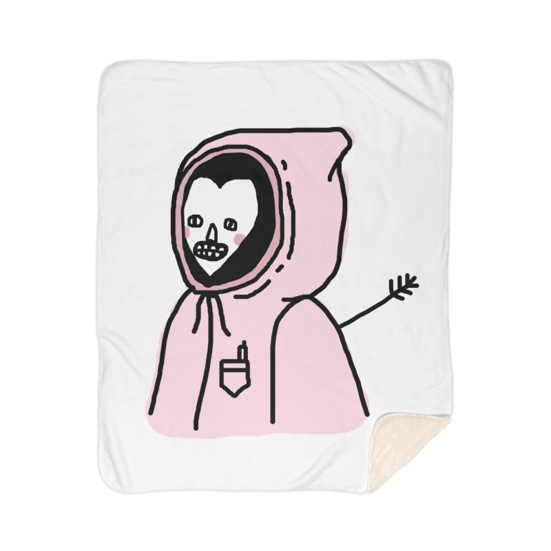 I AM OK Home Sherpa Blanket Blanket by Garbage Party's Trash Talk & Apparel Shop