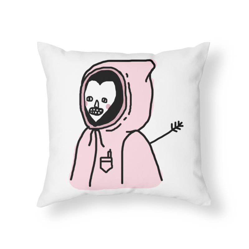 I AM OK Home Throw Pillow by Garbage Party's Trash Talk & Apparel Shop