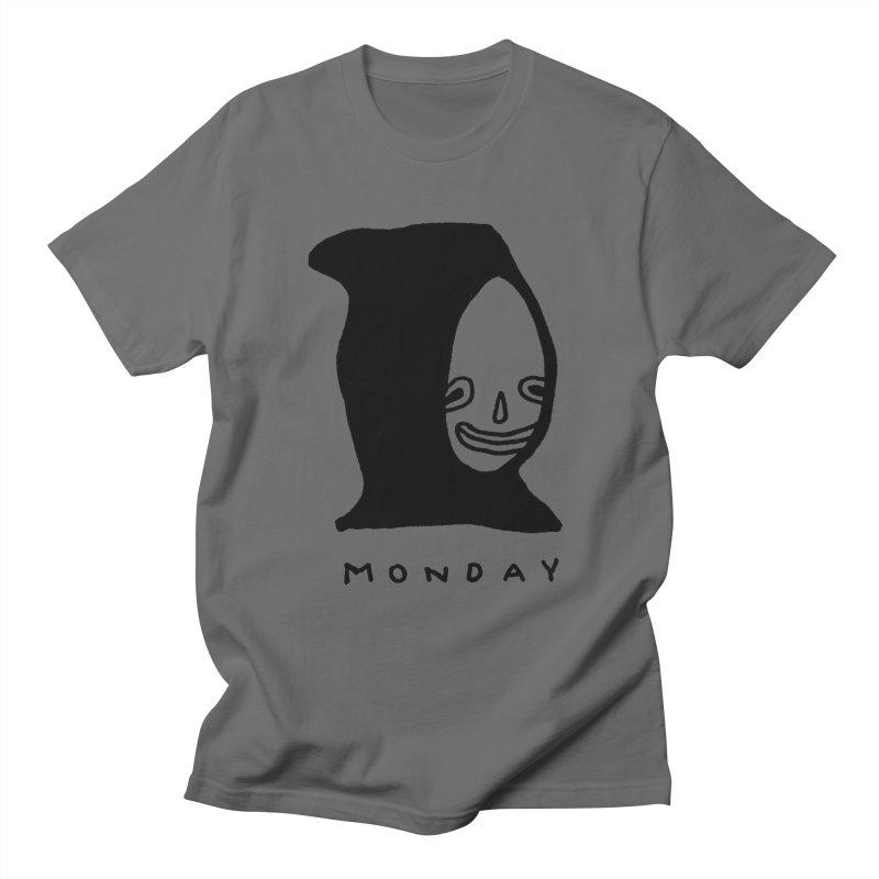 Monday Men's T-Shirt by Garbage Party's Trash Talk & Apparel Shop