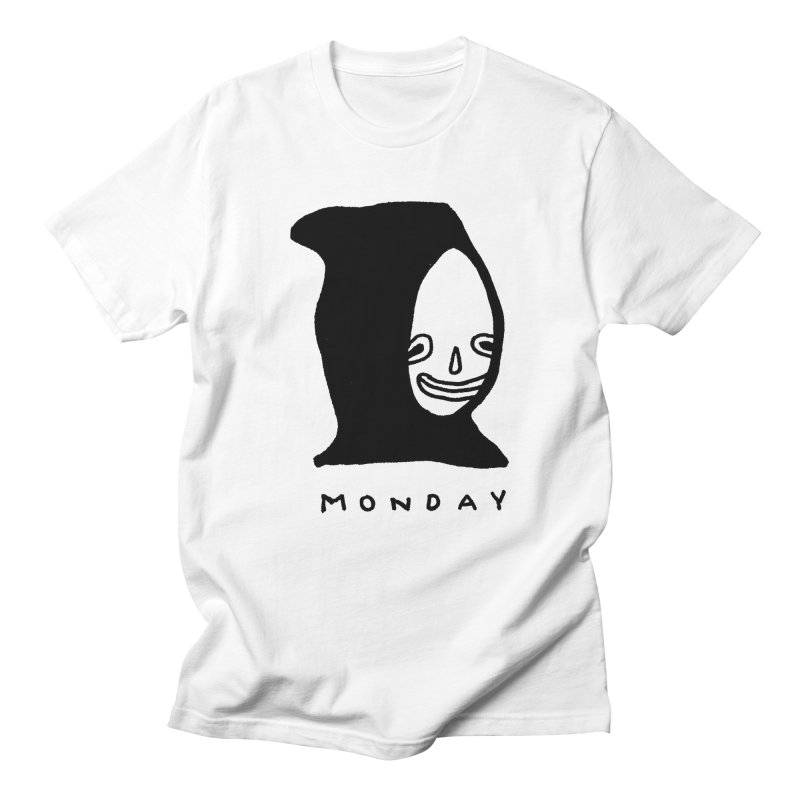 Monday Men's Regular T-Shirt by Garbage Party's Trash Talk & Apparel Shop