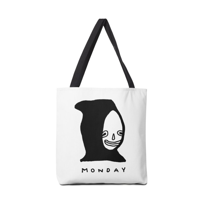 Monday Accessories Tote Bag Bag by Garbage Party's Trash Talk & Apparel Shop