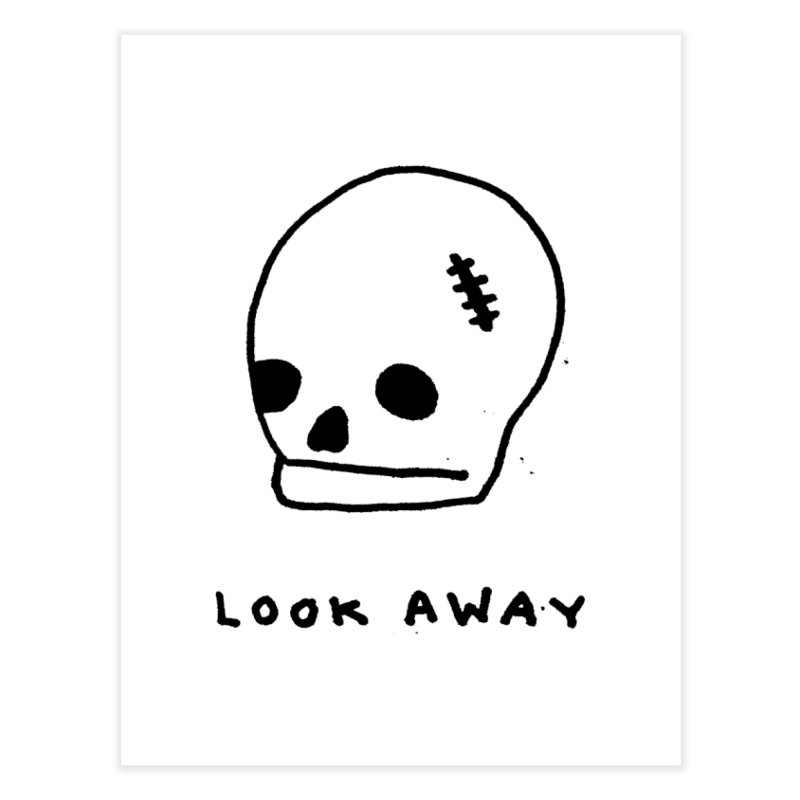 Look Away Home Fine Art Print by Garbage Party's Trash Talk & Apparel Shop