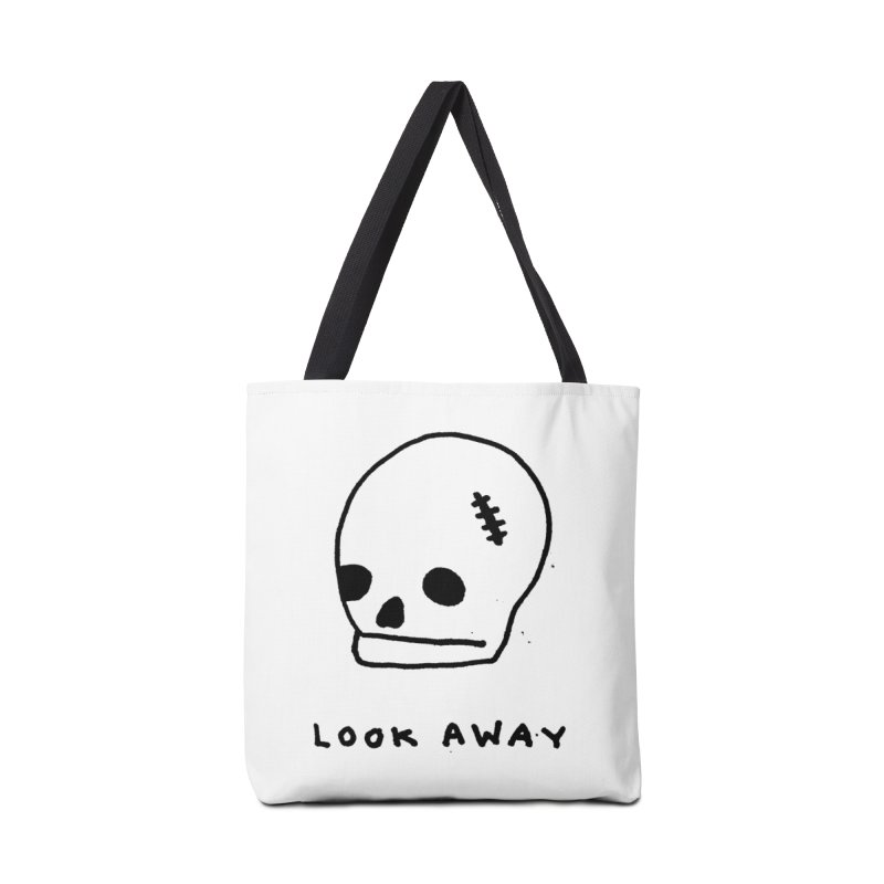 Look Away Accessories Tote Bag Bag by Garbage Party's Trash Talk & Apparel Shop