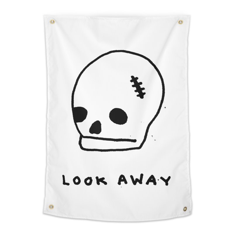 Look Away Home Tapestry by Garbage Party's Trash Talk & Apparel Shop