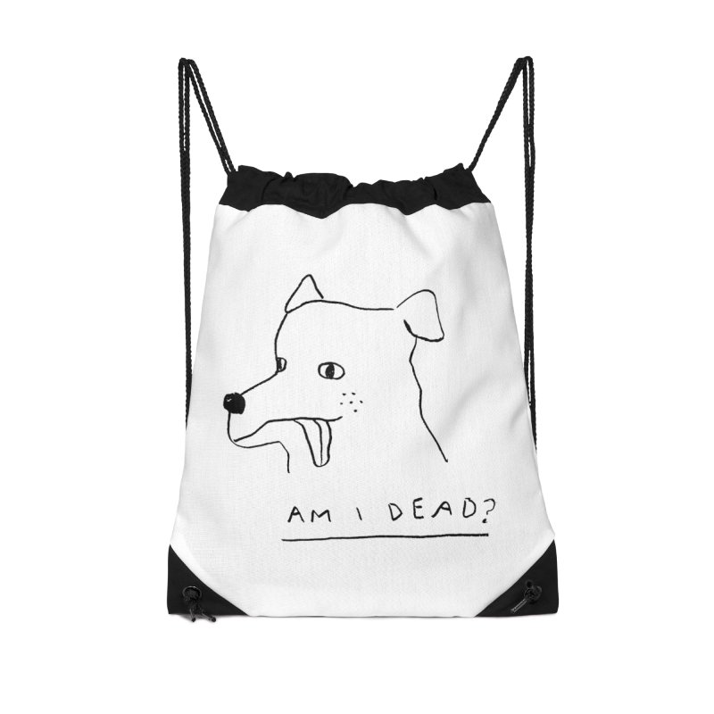 Am I Dead? Accessories Bag by Garbage Party's Trash Talk & Apparel Shop