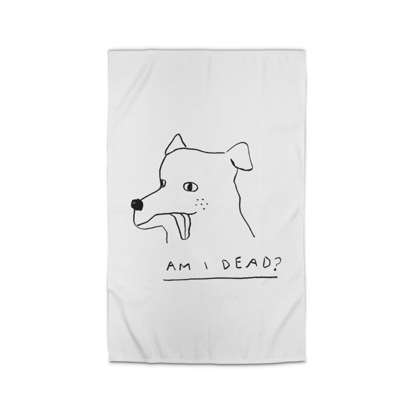 Am I Dead? Home Rug by Garbage Party's Trash Talk & Apparel Shop