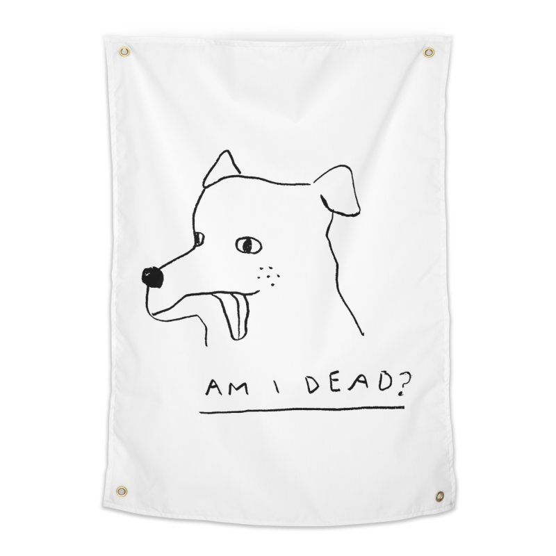 Am I Dead? Home Tapestry by Garbage Party's Trash Talk & Apparel Shop