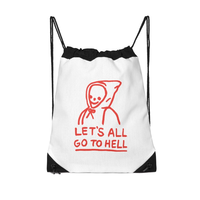 Let's All Go to Hell Accessories Bag by Garbage Party's Trash Talk & Apparel Shop