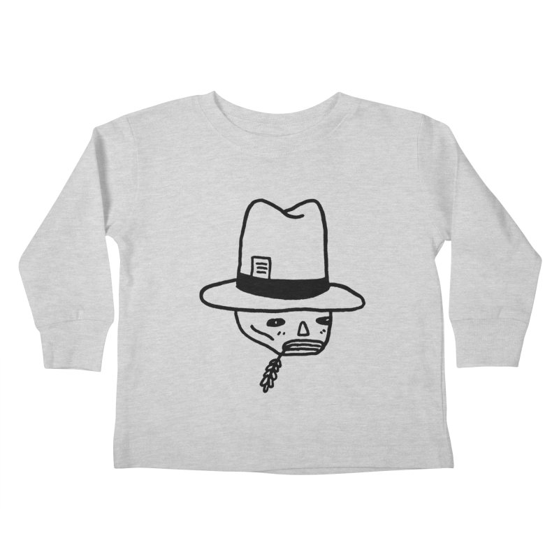 Get Off My Lawn Kids Toddler Longsleeve T-Shirt by Garbage Party's Trash Talk & Apparel Shop