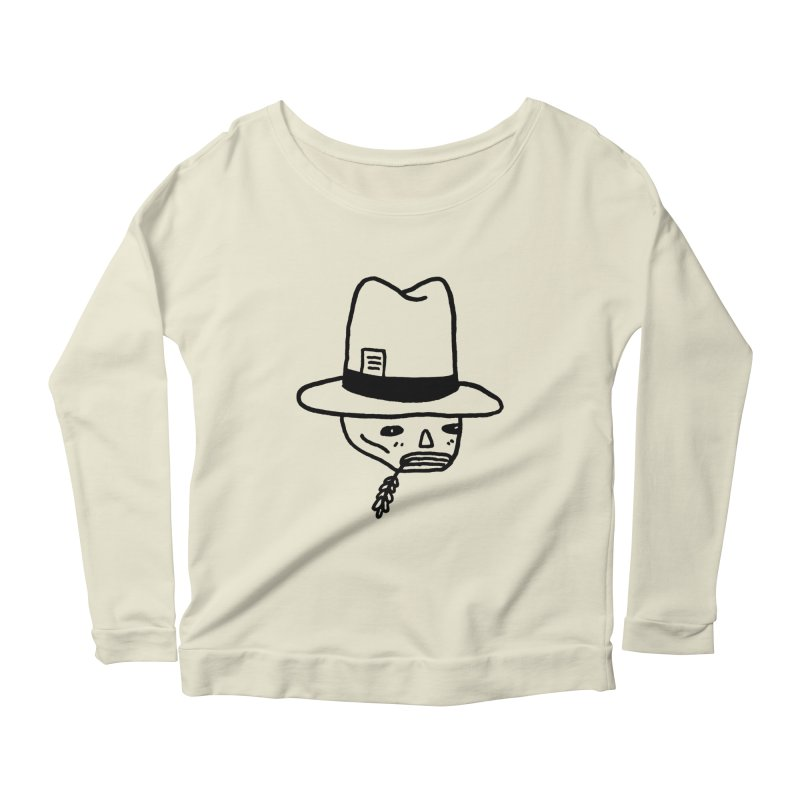 Get Off My Lawn Women's Longsleeve Scoopneck  by Garbage Party's Trash Talk & Apparel Shop