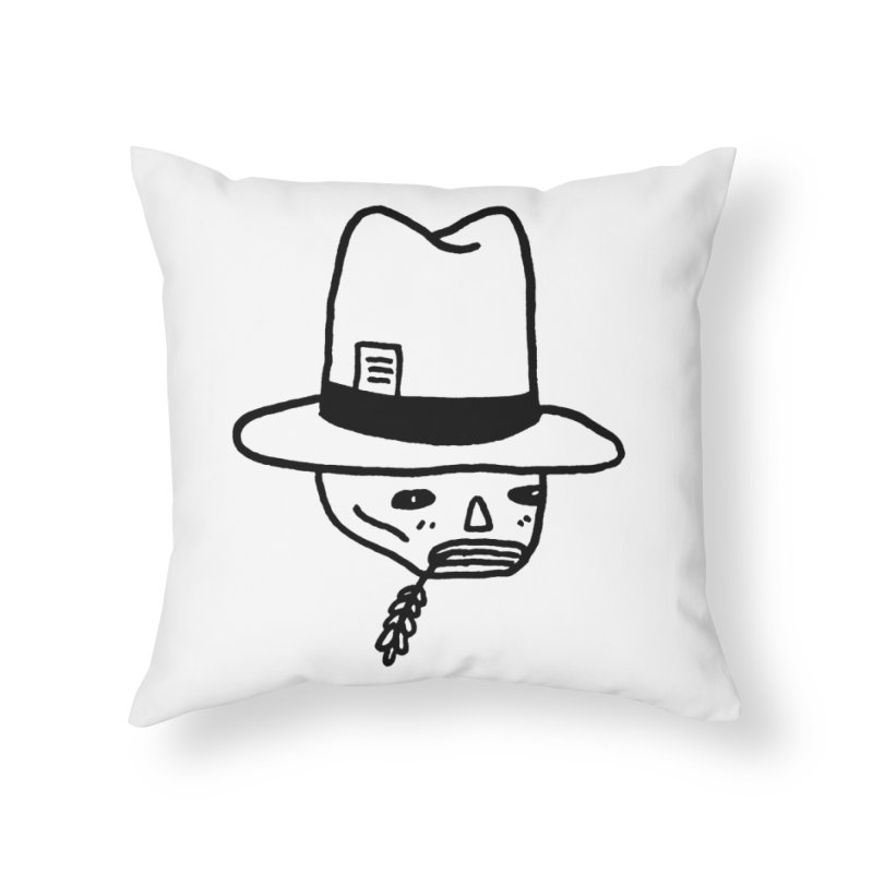 Get Off My Lawn Home Throw Pillow by Garbage Party's Trash Talk & Apparel Shop