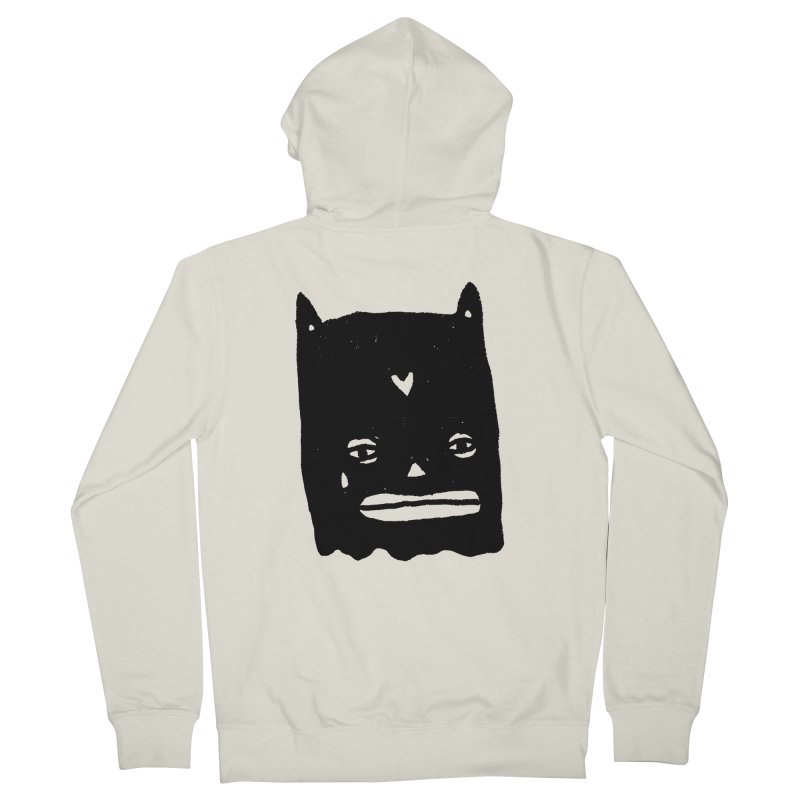 Go Easy Women's Zip-Up Hoody by Garbage Party's Trash Talk & Apparel Shop
