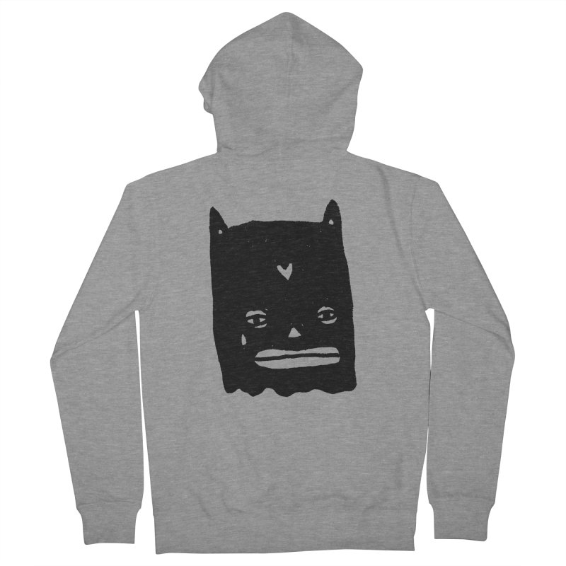 Go Easy Men's French Terry Zip-Up Hoody by Garbage Party's Trash Talk & Apparel Shop