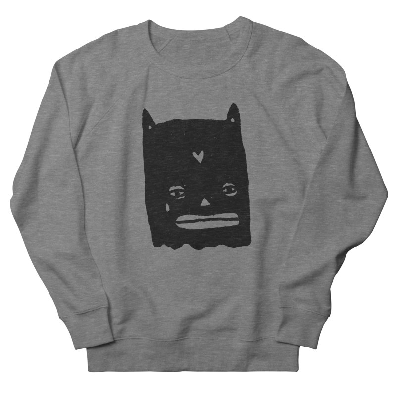 Go Easy Women's French Terry Sweatshirt by Garbage Party's Trash Talk & Apparel Shop