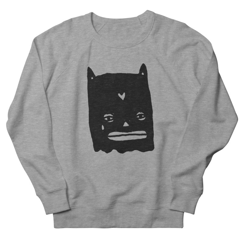Go Easy Men's French Terry Sweatshirt by Garbage Party's Trash Talk & Apparel Shop