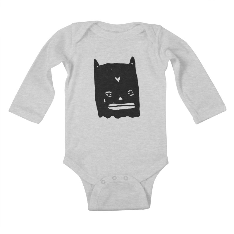 Go Easy Kids Baby Longsleeve Bodysuit by Garbage Party's Trash Talk & Apparel Shop