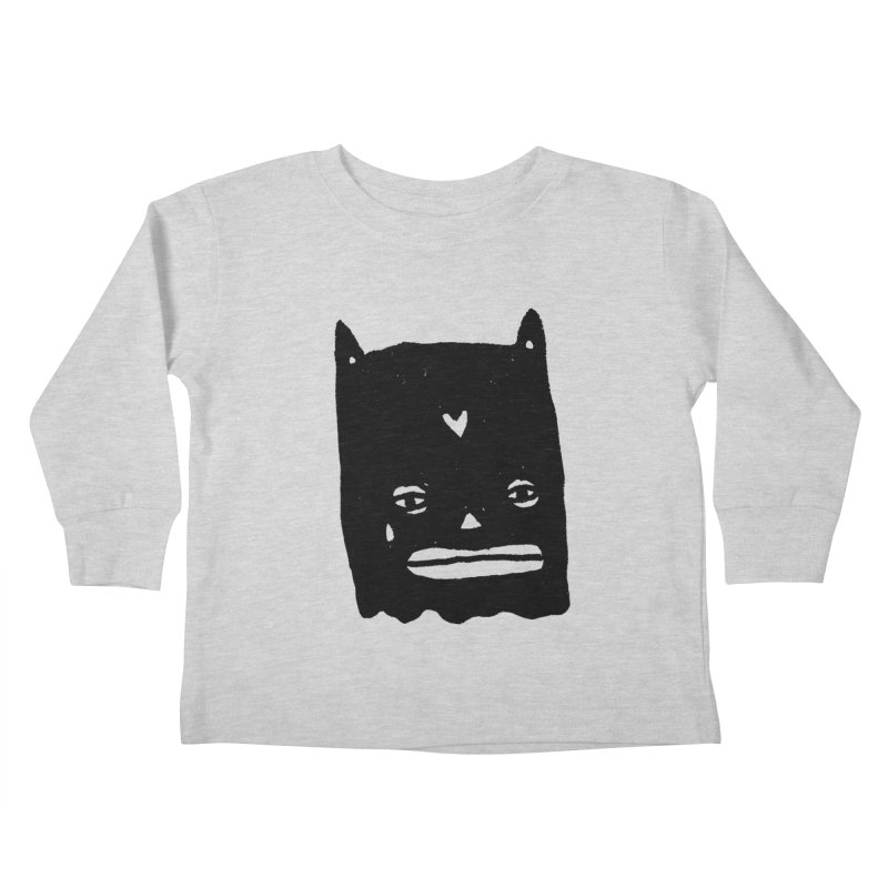 Go Easy Kids Toddler Longsleeve T-Shirt by Garbage Party's Trash Talk & Apparel Shop