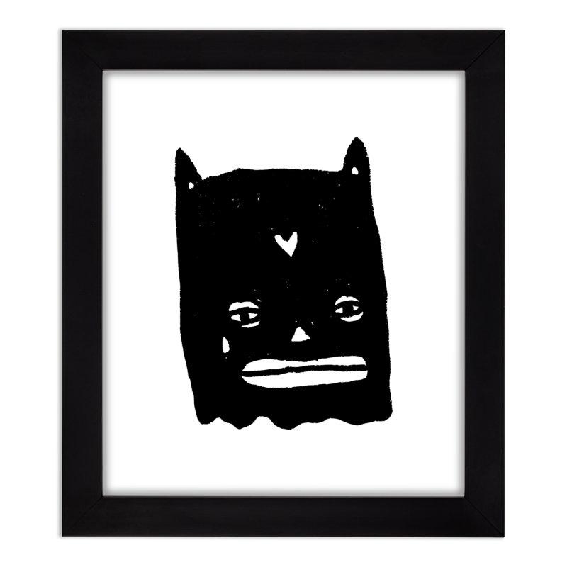 Go Easy Home Framed Fine Art Print by Garbage Party's Trash Talk & Apparel Shop