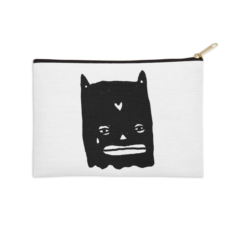 Go Easy Accessories Zip Pouch by Garbage Party's Trash Talk & Apparel Shop