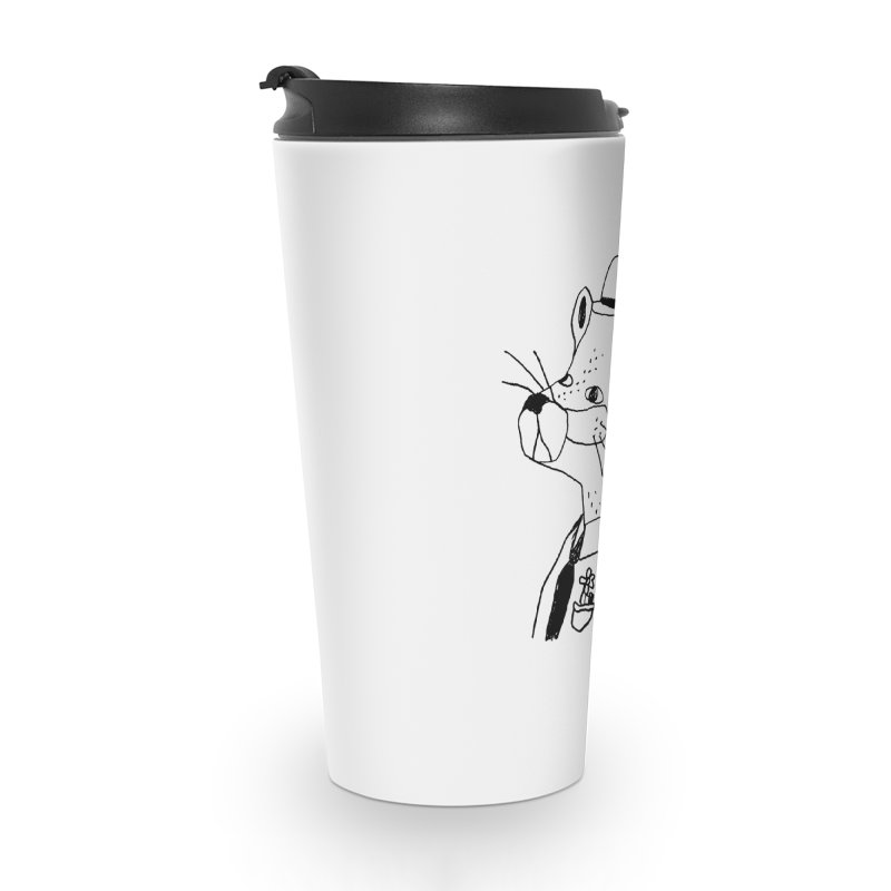 Businessman Accessories Travel Mug by Garbage Party's Trash Talk & Apparel Shop